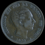 10 céntimos Alfonso XII